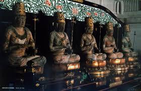 五大虚空蔵菩薩像